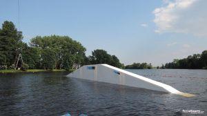 A frame na wakeparku w Łodzi