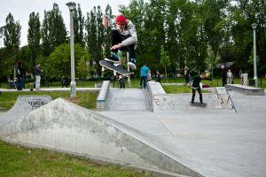 Aaron Jaws Homoki - skatepark Mistrzejowice - Krakow
