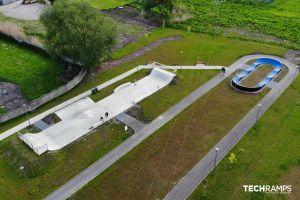 Betong skatepark Chęciny