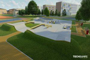 Betong skatepark Wrocław