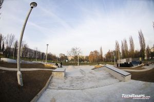 Betonowa Skateplaza Mistrzejowice