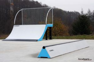 Betonowe skateparki - Torzym