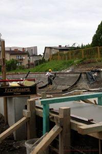 Betonowy skatepark w Radzionkowie