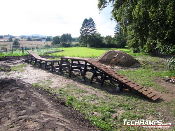 Bikepark in Nagorzyce