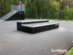 Blachownia skatepark grinbox