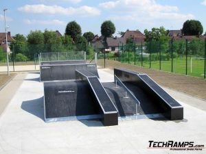 Chałupki Skatepark funbox