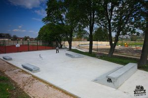 Concrete Light Series - Stopnica skatepark