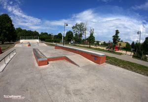 Concrete platform in Bydgoszcz