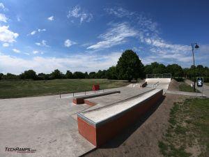 Concrete skatepark - Bydgoszcz