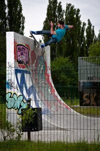 Corbin Harris in Krakow - Skatepark Mistrzejowice-1