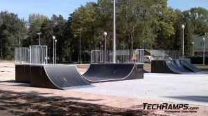 Dąbrowa górnicza Skatepark Minirampa