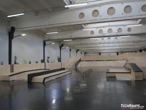 Elementy skateparku AvePark Warszawa