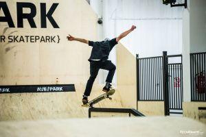 First riders in AvePark skatepark