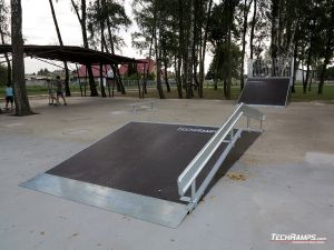 Funbox with broken rail Kaźmierz
