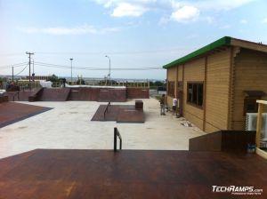 Grecja Thessaloniki  - skate park