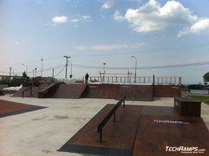 Grecja Thessaloniki  - skate parks