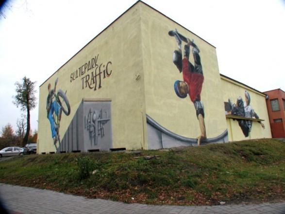 Indoor Skatepark in Czeladź
