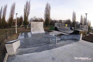 Kraków Mistrzejowice Skateplaza