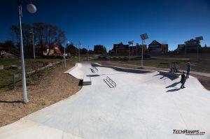 Maniowy - concrete, monolith skatepark