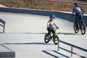 Maniowy - skatepark in concrete monolith technology