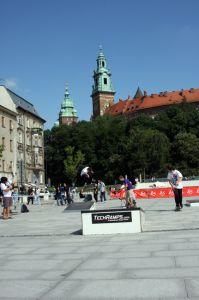 Mini mobilny street park Techramps