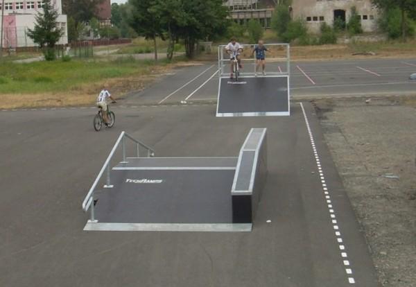 Mini Skatepark in Chojna