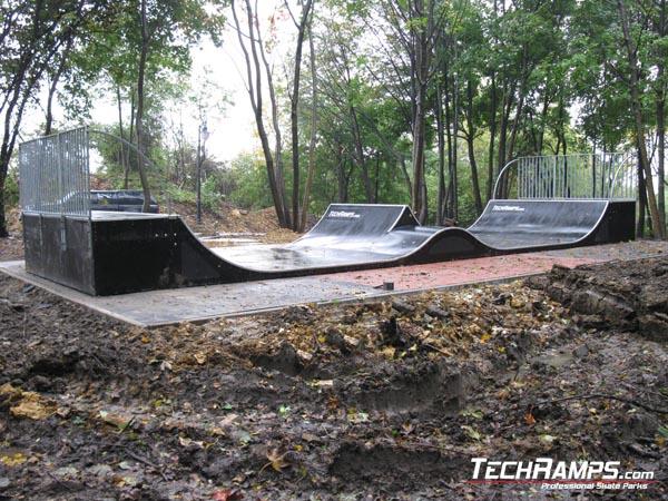 Mini spin ramp in Radzionkow