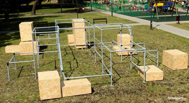 Mobile Parkour Park in Lublin