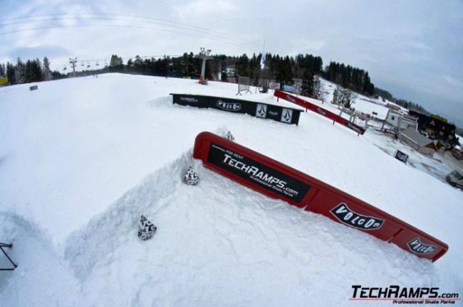 Mobile snowpark Bialka Tatrzanska