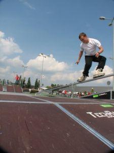 Mobilny skatepark do wypożyczania 15