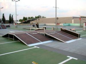 Mobilny skatepark do wypożyczania 9