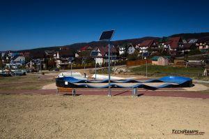 Modular pumptrack and concrete skatepark - Maniowy
