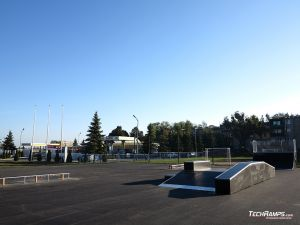 Modular skatepark in standard technology- Piotrków Kujawski
