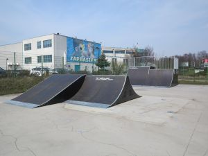 Modułowe elementy - Tarnowskie Góry skatepark