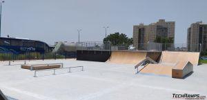 Modułowy skatepark - Ramla