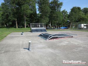 Modułowy skatepark Witnica