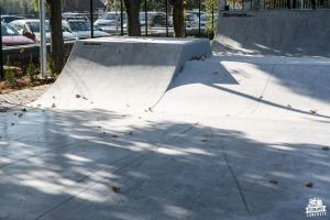 Nakło nad Notecią - newly opened skatepark in concrete technology