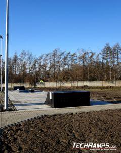 New skatepark for new estate - Szamotuly