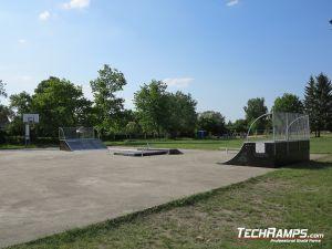 Nowy skatepark w Witnicy