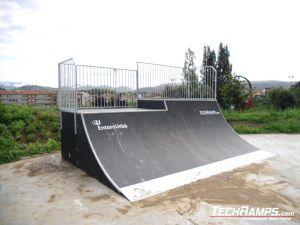 Olot Skatepark Hiszpania