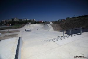 Opole - Betonowy Skatepark