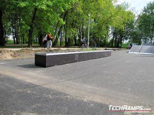 Ostrowiec Świętokrzyski Skatepark grindbox