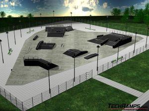 Przykład skateparku 2