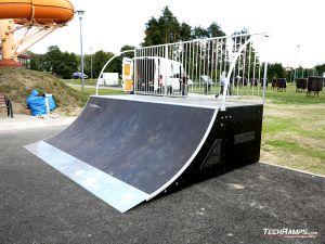 Quarter pipe Skatepark Głogów Małopolski
