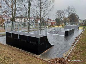Quarter Pipe Skatepark Szczebrzeszyn