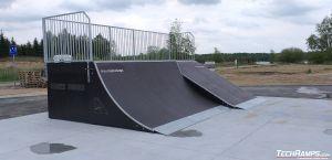 Quarter ramp i Bank ramp - Międzyrzec Podlaski
