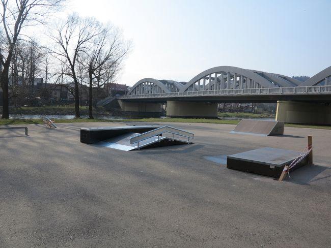 Rozbudowa Skatepark Krościenko nad Dunajcem