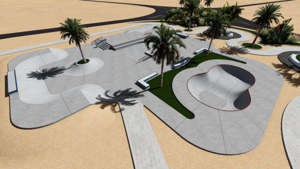 Sample concrete skatepark 545857