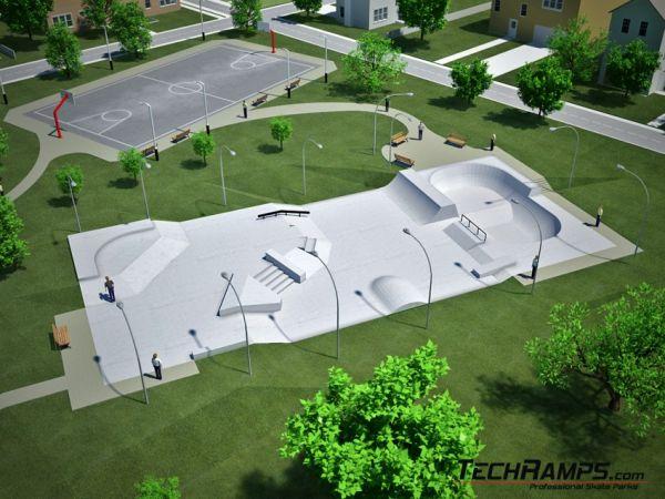 Sample concrete skatepark no 020510