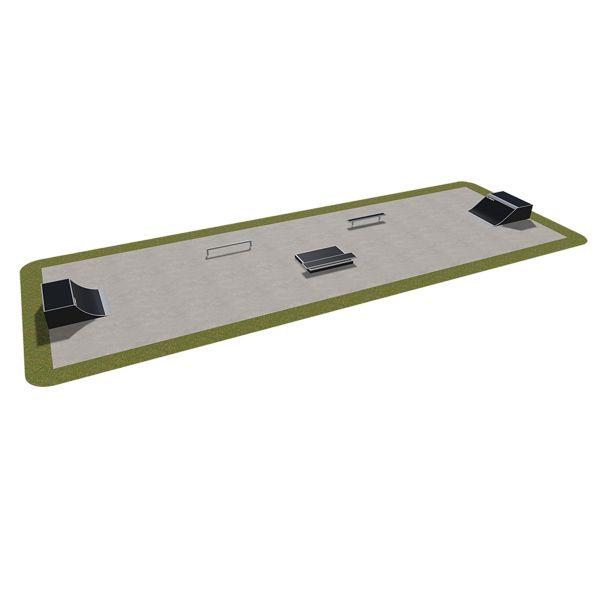 Sample modular skatepark 410115